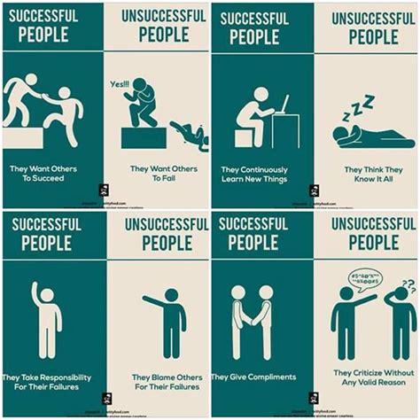 Habits Of Successful People Vs Unsuccessful People  Great