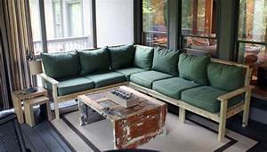 how to make an outdoor sectional i like to make stuff With building sectional sofa plans