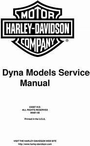2007 Harley Davidson Dyna Models Service Manual