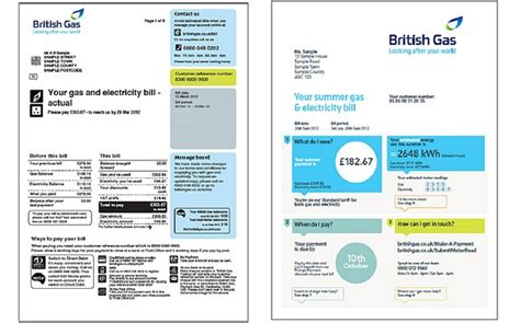Uk utility bill template costumepartyrun uk utility bill template british gas launches bill for dummies telegraph maxwellsz