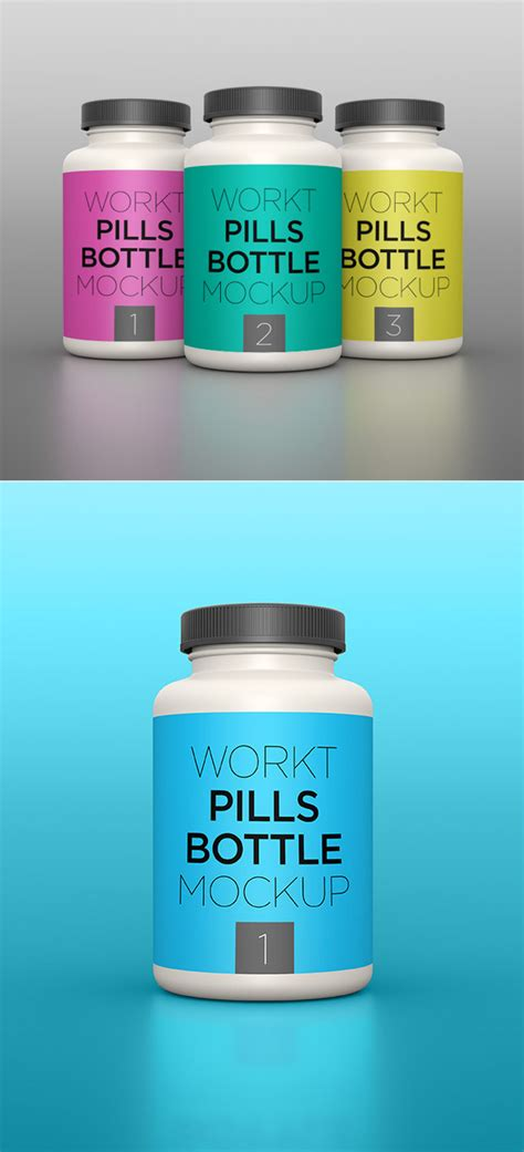 The biggest source of free photorealistic bottle mockups online! Free Mockups: 32 Useful Realistic Photoshop Mockup ...