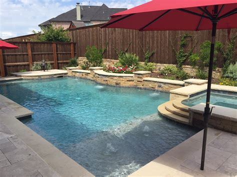 pool designs hobert pools spas family history dallas pool company