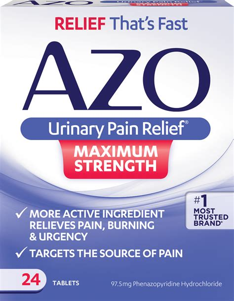 66153 Azo Urinary Relief Coupon by Azo Maximum Strength Let Us Help Ease Your Uti