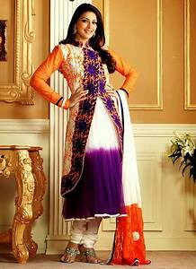Sonali Bendre In Latest Designs of Anarkali Suits ...