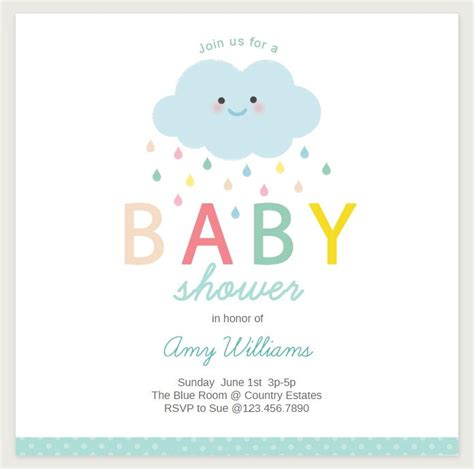 Baby Shower Card Templates The Image 19 Sets Of Free Baby Shower Invitations You Can Print Baby