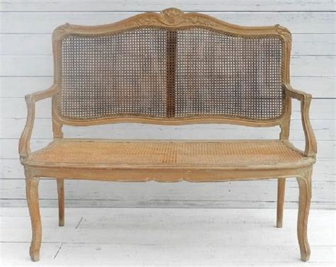 bergere canape charming c19 bergere sofa settee canape louis xv