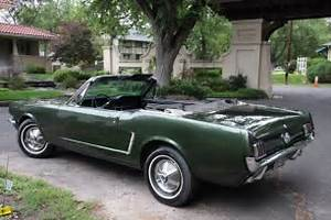 Beautiful 1965 Ford Mustang Convertible 289 ci 65 Mustang for sale: photos, technical ...