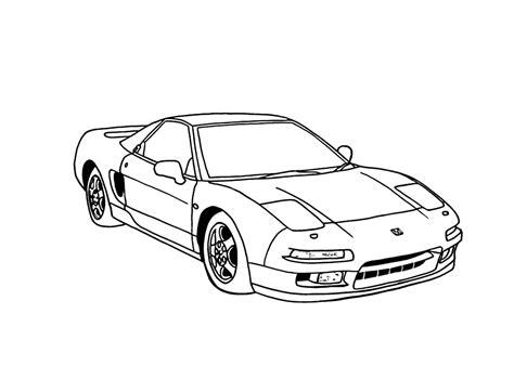 Kleurplaat Auto 39 by спортивные машины скачать раскраски для мальчиков