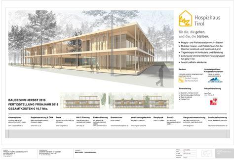 Elektroplanung Fuer Den Neubau by Bautafel Hospizhaus Tirol Tiroler Hospiz Gemeinschaft