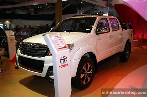 toyota international toyota hilux trd sportivo front three quarter at the 2014