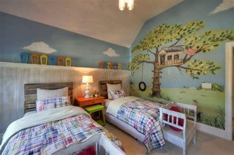 dessin mural chambre peinture chambre enfant 70 idées fraîches