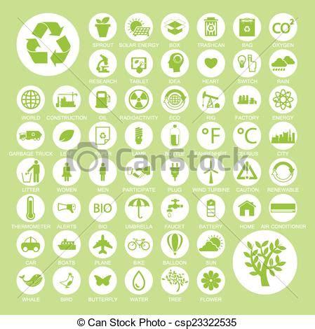 reciclar fondos ecologia iconos