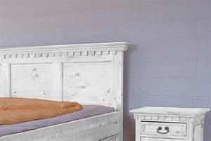 Möbel Weiß Holz : bett hacienda pinie wei massiv holz moebel schlafzimmer doppelbett kaufen bei moebelkultura ~ Eleganceandgraceweddings.com Haus und Dekorationen