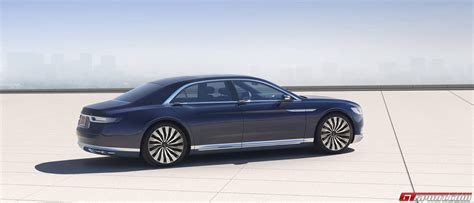 Lincoln Continental Prototype by Official 2016 Lincoln Continental Concept Gtspirit