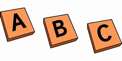 Abc Tiles Alphabet Letters Uppercase Graphic Vector