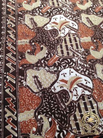 jual kain batik warna alam motif sekarjagad baru thebatik co id