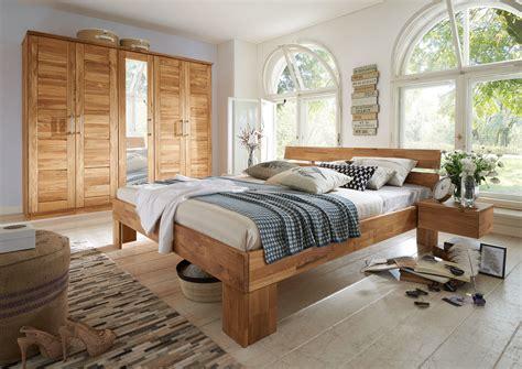 Schlafzimmer Bett Aus Massivholz Modern Zen Von Lars