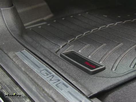 weathertech floor mats gmc weathertech floor mats for gmc acadia 2010 wt442511