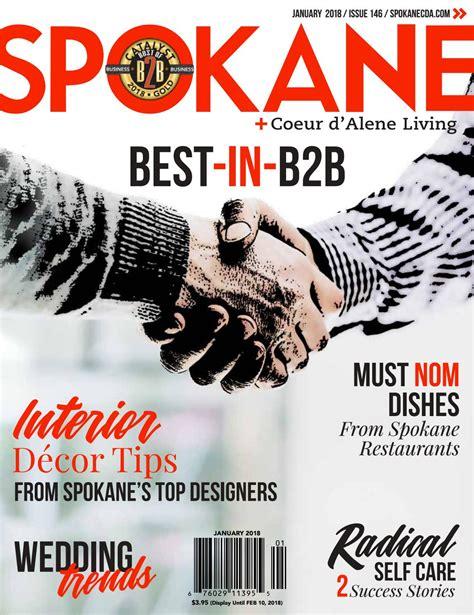 Spokane Coeur d'Alene Living magazine January 2018 #146 by