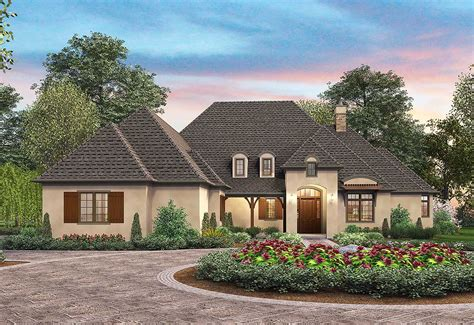 french country elegance  architectural designs house plans
