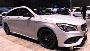 Mercedes Cla 200d : 2018 mercedes cla 200d shooting brake night edition walkaround 2018 geneva motor show youtube ~ Melissatoandfro.com Idées de Décoration