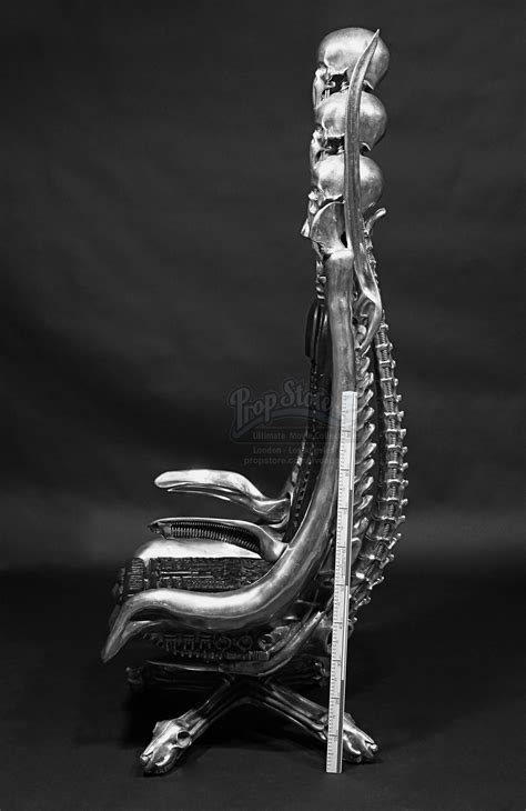 Giger Harkonnen Capo Chair by H R Giger Giger Owned Aluminium Harkonnen Quot Capo Quot Chair