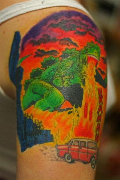 godzilla tattoo tumblr