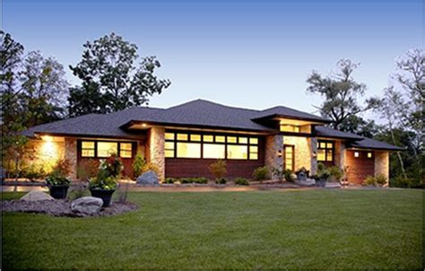 modern homes with low pitched sloped roof - Google Search