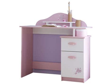 bureau fille pas cher bureau enfant papillon vente de bureau conforama
