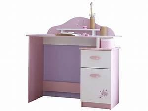 Bureau Enfant Fille : bureau enfant papillon vente de bureau conforama ~ Teatrodelosmanantiales.com Idées de Décoration