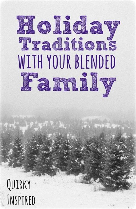 traditions   blended family check
