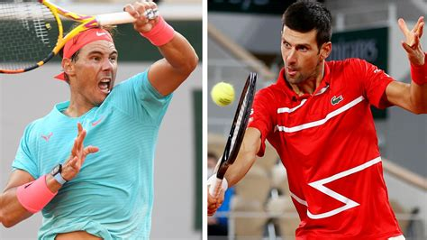 French Open 2020, Rafael Nadal vs Novak Djokovic, Roger ...