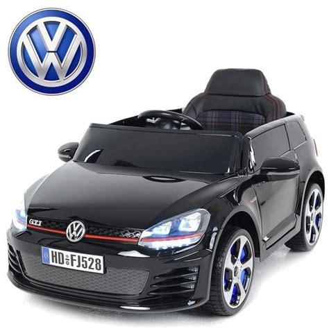 siege golf 5 voiture électrique enfant golf gti 12v siège cuir