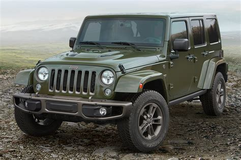 2016 Jeep Wrangler Suv Pricing