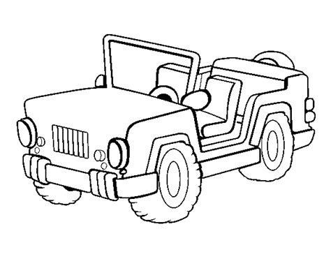 pin jeep colouring pages  pinterest