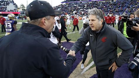 chris petersen  road trip  mike leach cougcenter