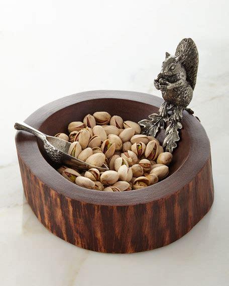 vagabond house squirrel nut bowl  scoop