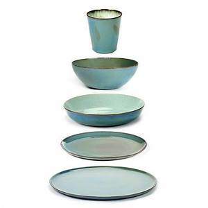 Geschirr Set Steingut : serax keramikgeschirr hellblau cer mica in 2019 keramik geschirr steingut geschirr steingut ~ Watch28wear.com Haus und Dekorationen