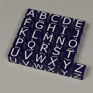 3d boxes alphabet letters With alphabet box letters