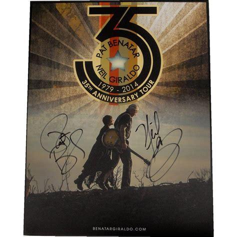 Pat Benatar Neil Giraldo Dual Hand Signed Autographed ...