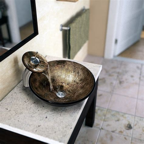 vigo vessel sinks and faucets 17 best images about vigo waterfall vessel sink sets on