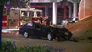 Mother killed after car flies off North Freeway during crash