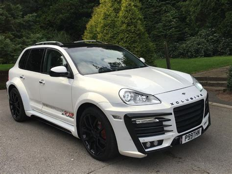 porsche cayenne xclusive wide body kit wide body kits