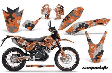 2008 2014 ktm 690 graphic kit 45 designs to choose from