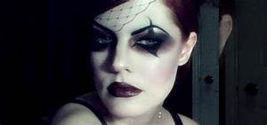 How to Create a dark Victorian Gothic circus girl makeup ...