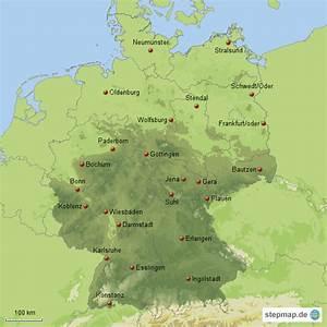 Schönsten Städte Deutschland : gro e st dte in deutschland teil 3 von maxi76 landkarte f r deutschland alle bundesl nder ~ Frokenaadalensverden.com Haus und Dekorationen