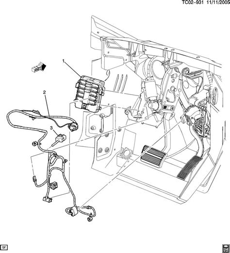 Chevrolet Volt Electrical Block Diagram by 22822537 Chevrolet Harness Chassis Wiring Harness