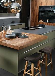 Holz Arbeitsplatte Küche : home decorating ideas modern mintgr n trendfarbe k chentrend trend k che holz holz ~ A.2002-acura-tl-radio.info Haus und Dekorationen