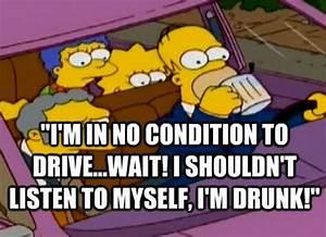 drunken homer s... Simpson Drunk Quotes