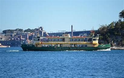 Ferry Wallpapers Harbour Sydney Fondo Vehicles Pantalla